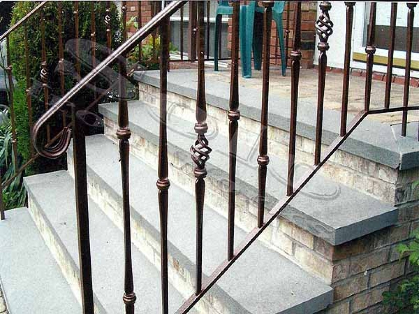 collection wrought iron railings for porch stairs