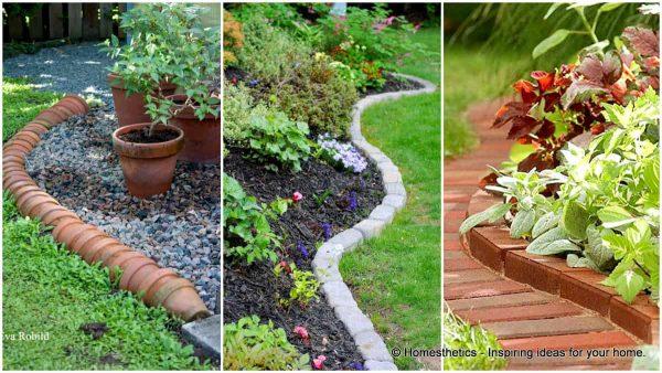 Example Of A 17 Simple And Cheap Garden Edging Ideas For Your Garden Medium