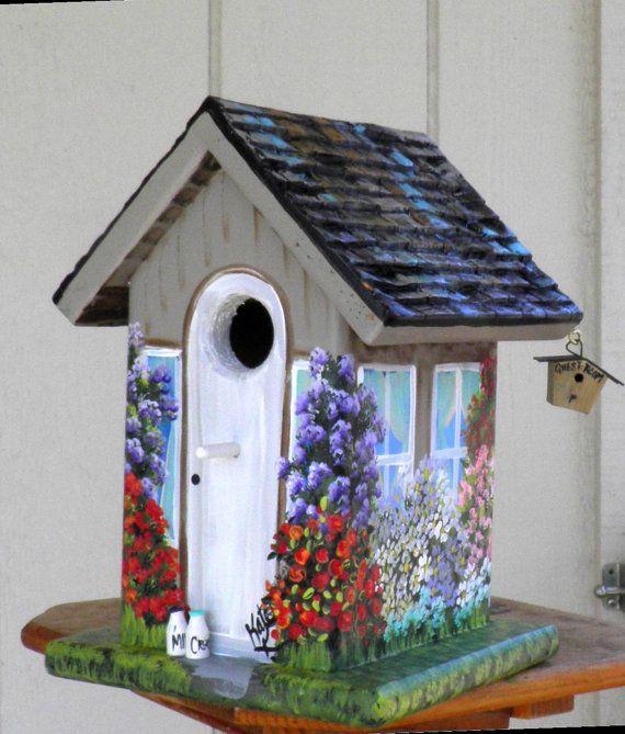 Example Of A Birdhouse Decorating Ideashome Decor Medium
