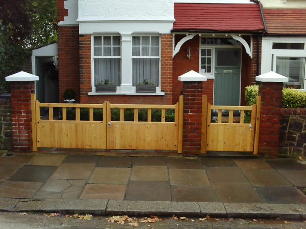 Example Of A Gloucester Wooden Driveway Gates Wrought Iron Gates Direct Medium