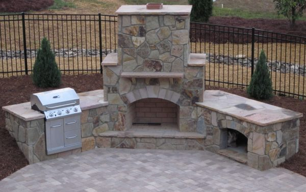 Example Of A How To Build An Outdoor Fireplace Stepbystep Guide Medium