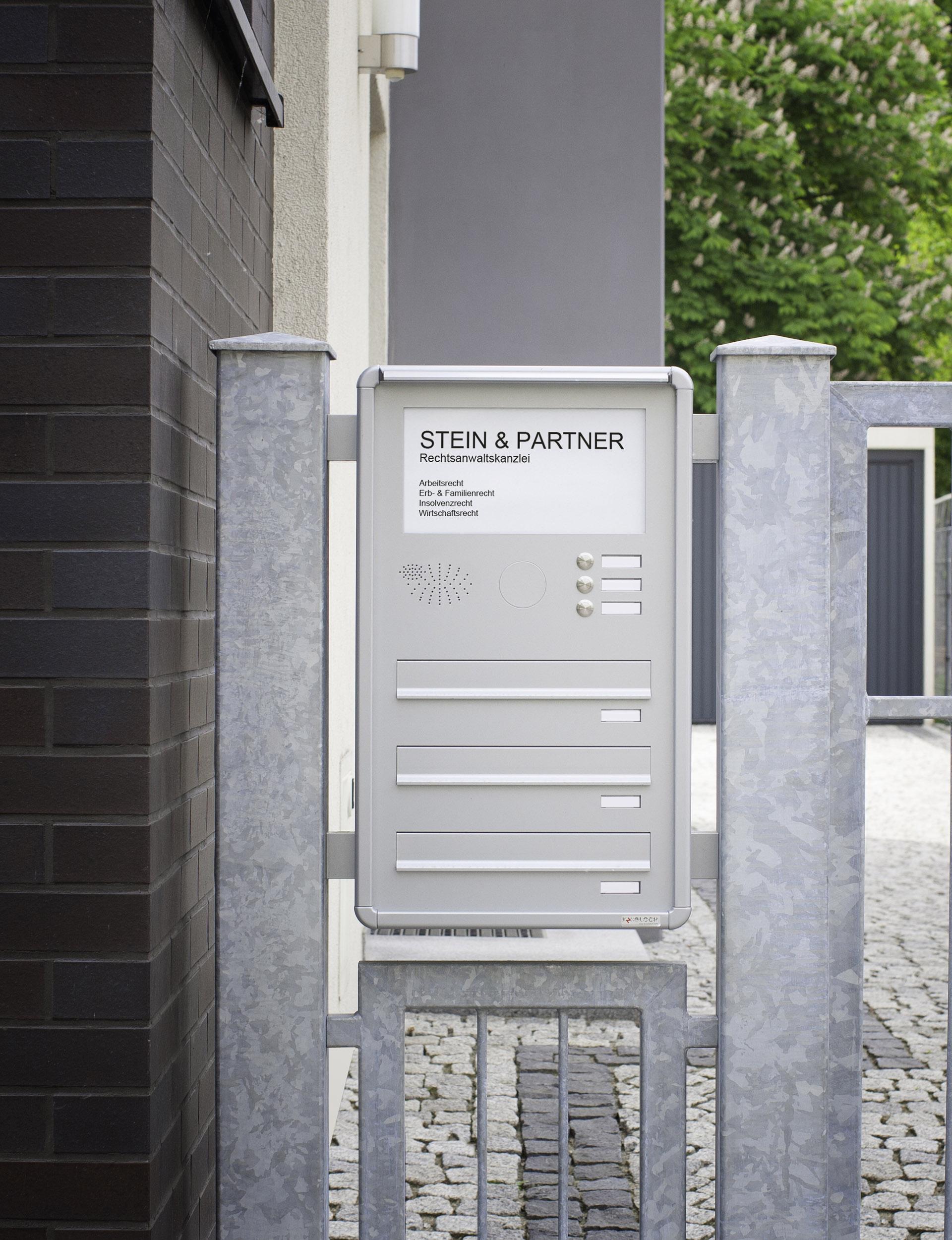 explore fencemounted mailbox banks  max knobloch nachf gmbh