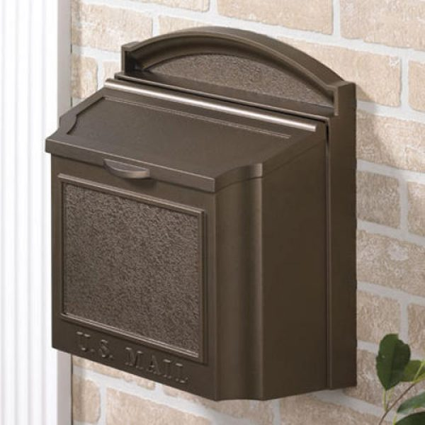 Fresh Colonial Wallmount Mailbox Outdoor Medium