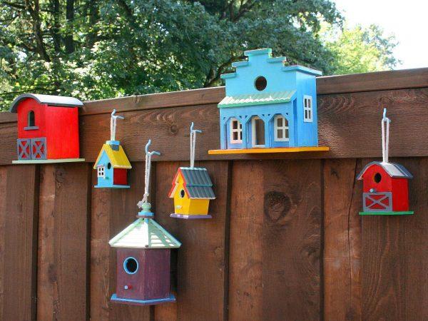 Fresh Decorate A Fence With Birdhouseshgtv Medium