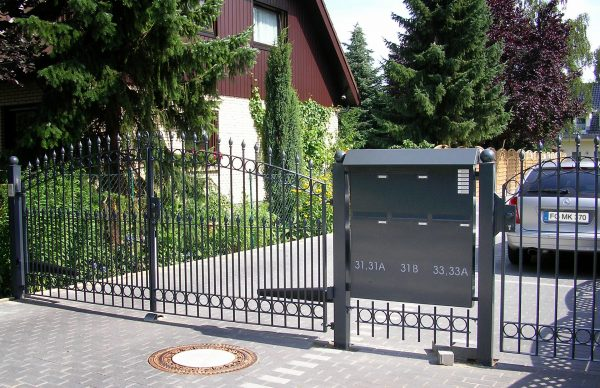 Fresh Fencemounted Mailbox Banks  Max Knobloch Nachf Gmbh Medium