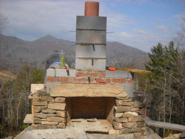 Fresh How To Build An Outdoor Stone Fireplace Step By Step Medium