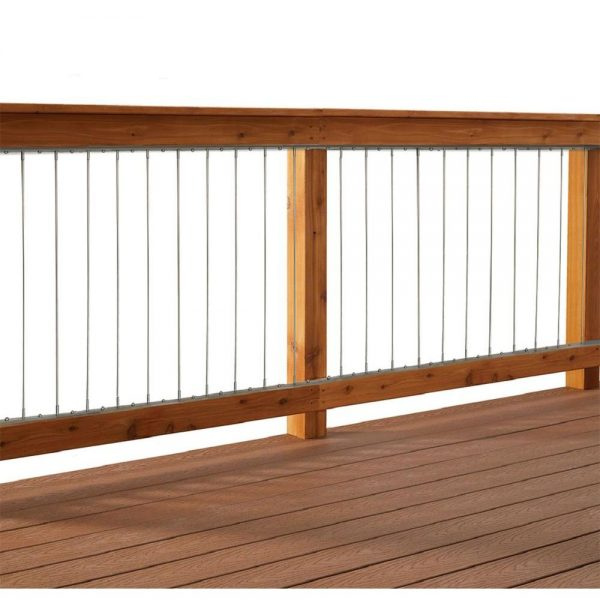 Get Vertical Stainless Steel Cable Railing Kit For 36 In High Medium