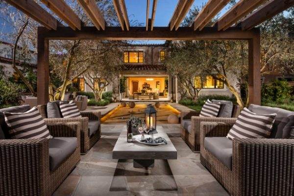 Inspiration 16 Bespoke Mediterranean Patio Designs For Your Backyard Medium
