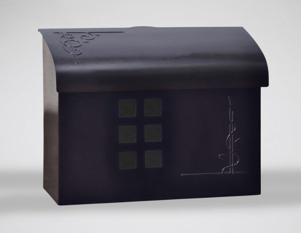 Inspiration Ecco Mailboxesblack Pewter Wall Mount Mailbox Medium