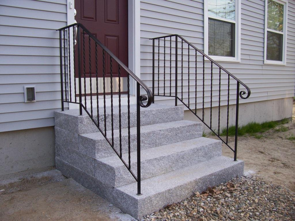 inspiration outdoor iron stair railing wrought handrails stairs hand