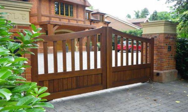 Inspirational Nice Kitchen Accessories Wooden Driveway Gate Designs Medium