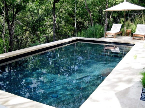 Looking Austin Black Pool Liner Contemporary With Lounge Chair Medium