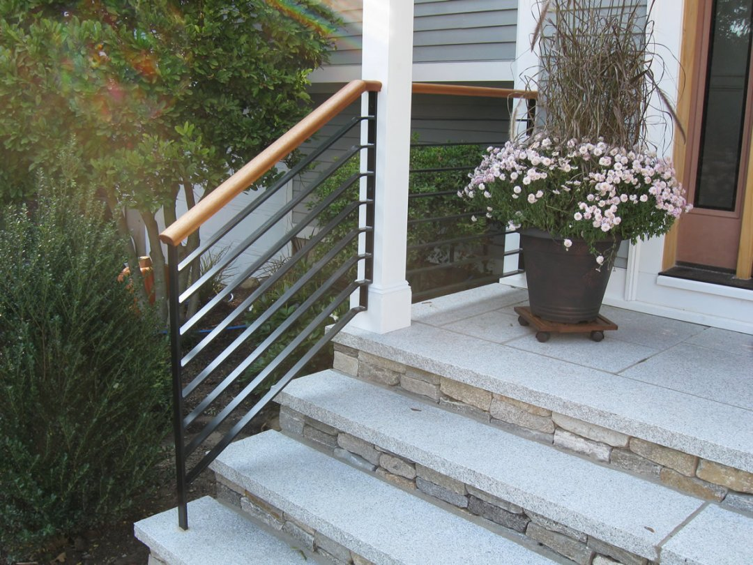 looking outdoor wrought iron stair railing indoor kits lowes kit