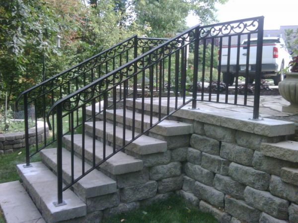 Looking To Replace A Metal Exterior Stair Railings Medium