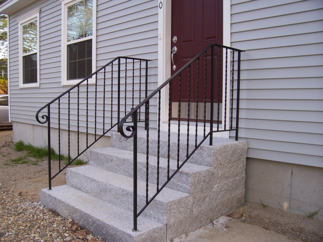 our favorite wrought iron hand railing exterior projects archive page