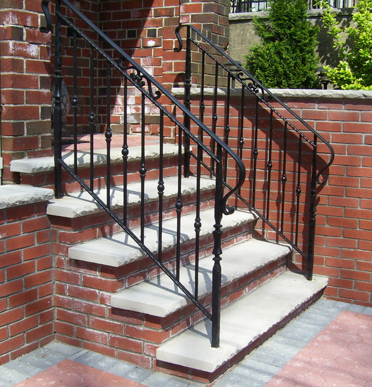 our favorite wrought iron outdoor stair railings how to select the