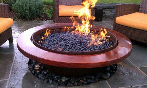 Outdoor Gas Fire Pit Designs Innovative Outdoor Gas Fire Medium