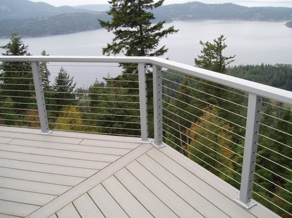 Perfect 5 Types Of Decorative Deck Railings Salter Spiral Stair Medium