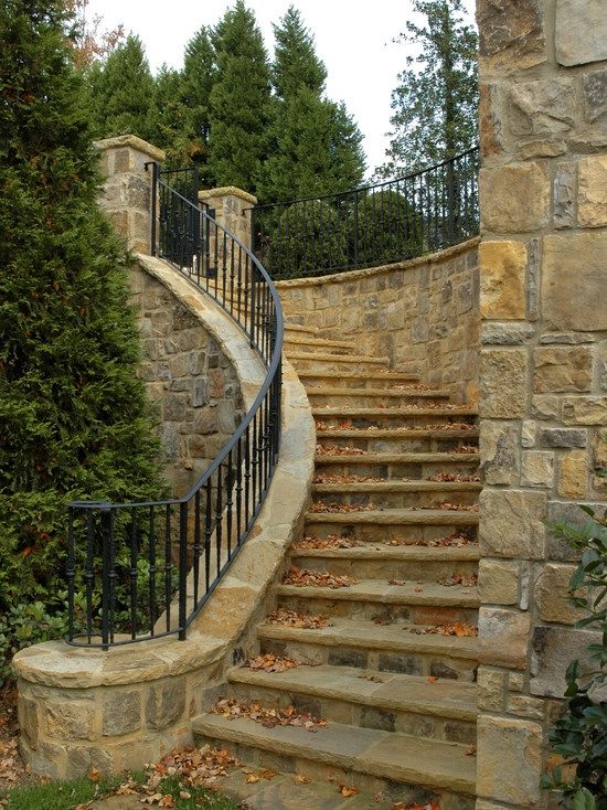 Perfect Exterior Wrought Iron Stair Railings Personalized Shapes Medium