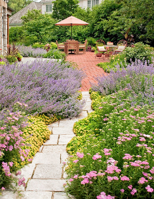 perfect french country garden traditional landscape chicago