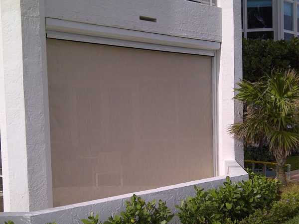 Perfect Motorized Hurricane   Security Protection Shutters Medium