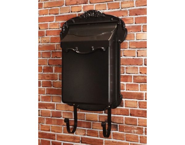 Popular Aluminum Victoria Vertical Wall Mount Mailbox Medium