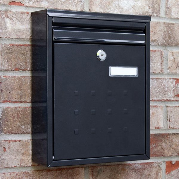 Popular Amsden Locking Wallmount Mailbox Outdoor Medium