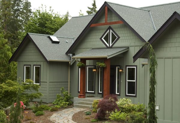 Popular Green Exterior Paint Exterior Traditional With Exterior Medium