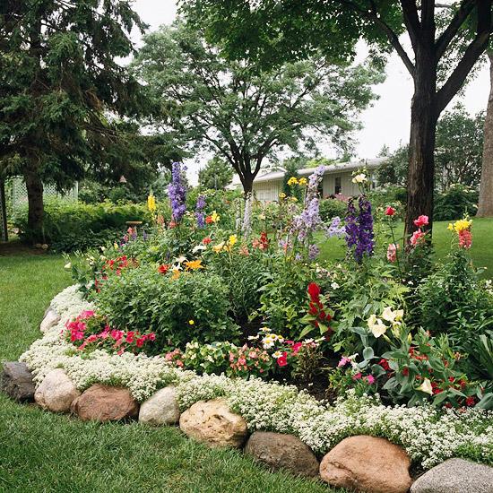 Popular Ideas For Garden Borders And Edging Medium