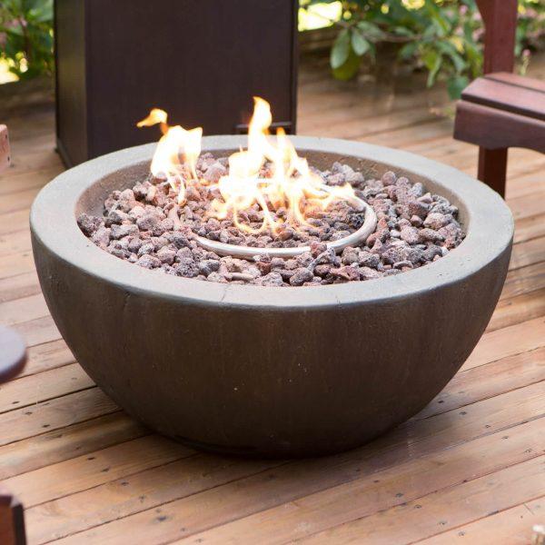 Round Backyard And Patio Fire Pit Ideas Medium