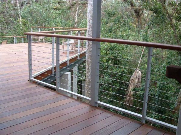 Search Cable Railing Ideas With A Sleek Design And Maximum Medium