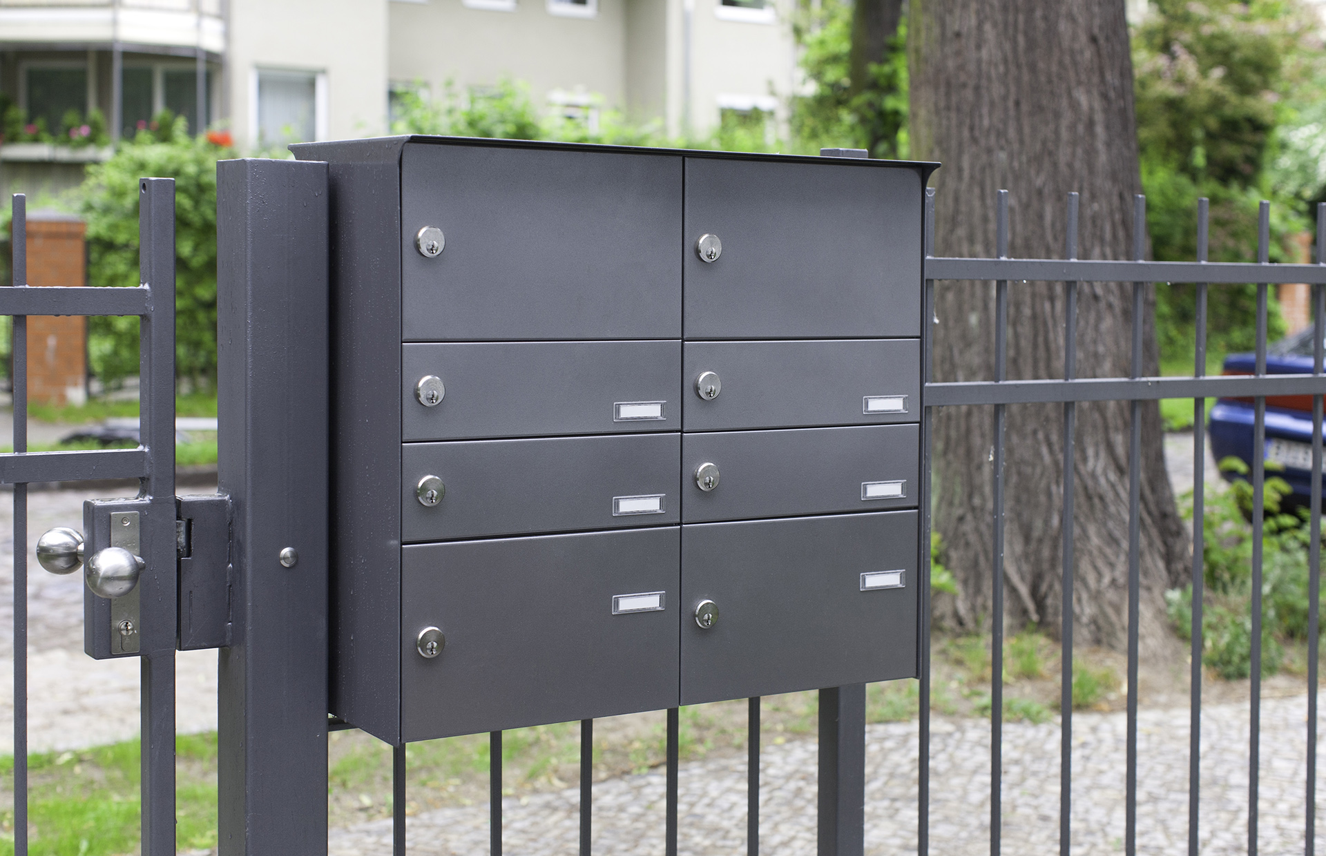 search fencemounted mailbox banks  max knobloch nachf gmbh