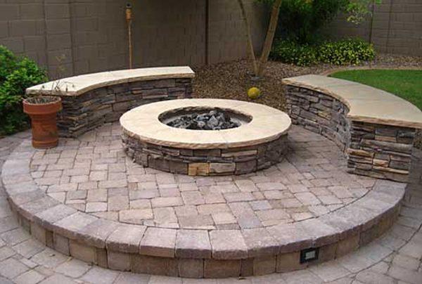 Simply Backyard Pavers Ideas Large And Beautiful Photos Photo Medium