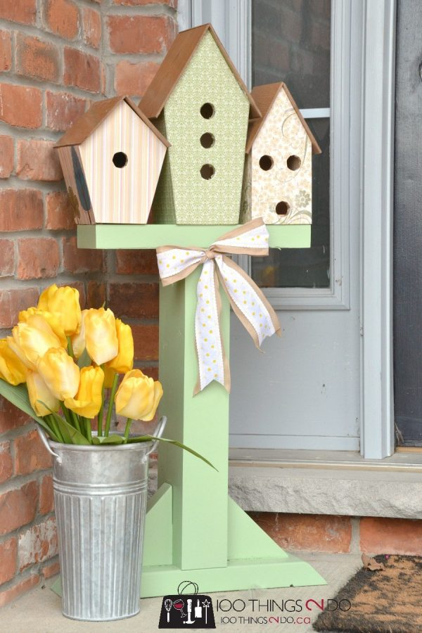 Simply Decorative Birdhouses Medium