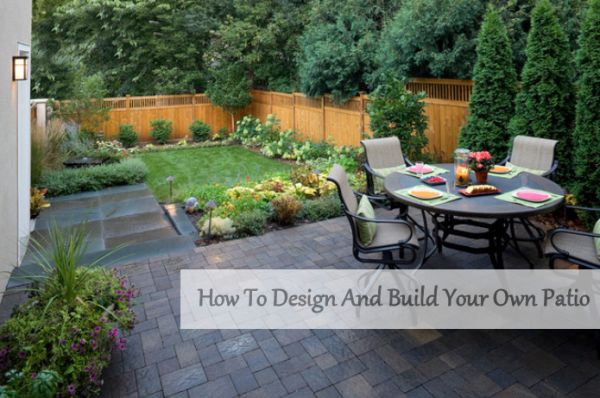 simply how to design and build your own patio