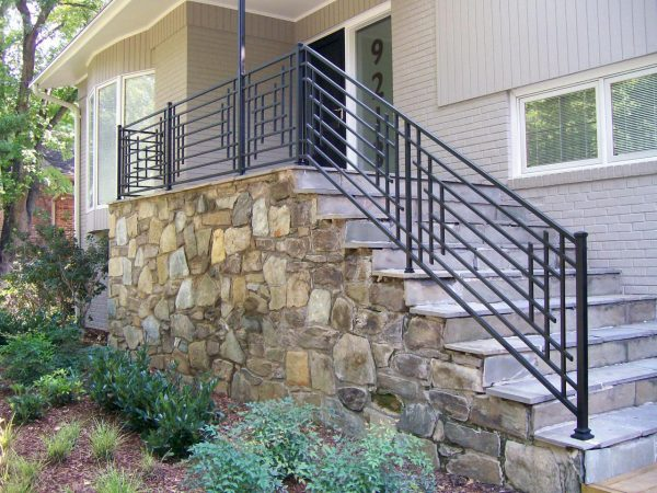 Simply Ideas Exterior Wrought Iron Railing  Railing Stairs And Medium