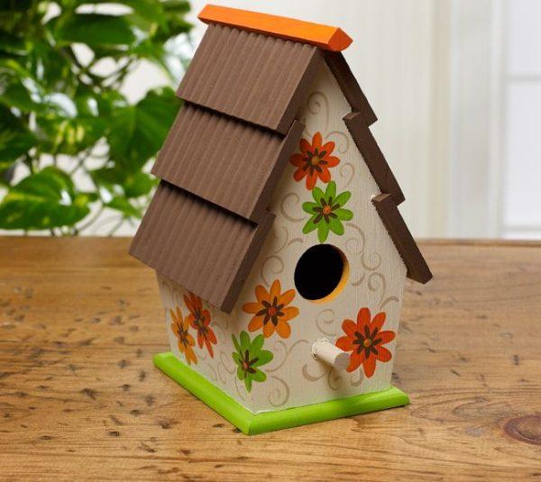 Simply Ideas For Decorating Wooden Birdhouses Cute Bird Houses Medium
