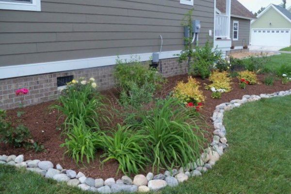 Simply Landscape Borders And Edging Ideas Inexpensive Landscape