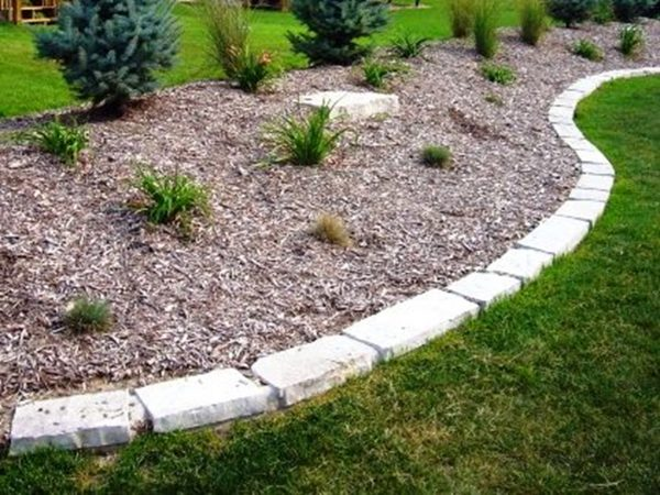 Simply Stone Edging For Landscaping Ideas Front Yard Border Home Medium