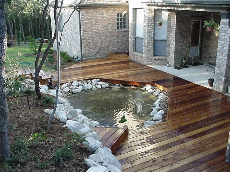 style 21 best images about ponds and decks on