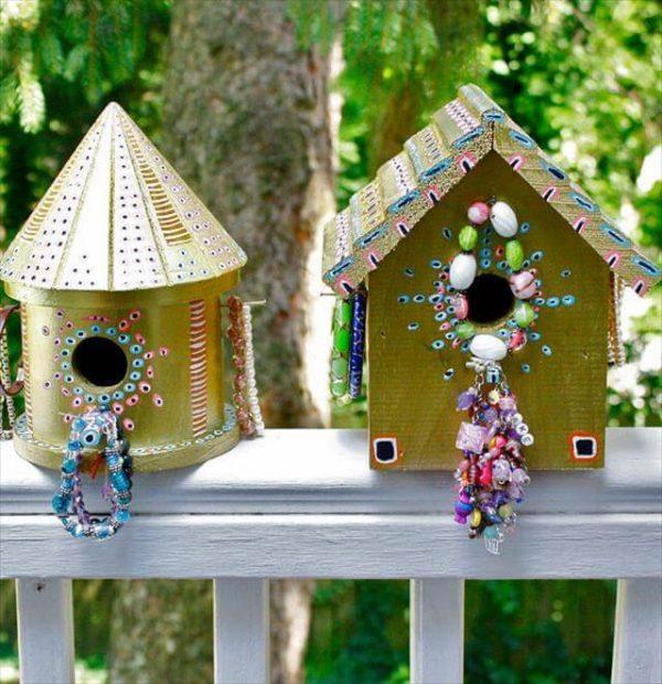 Style Birdhouse Decorating Ideashome Decor Medium