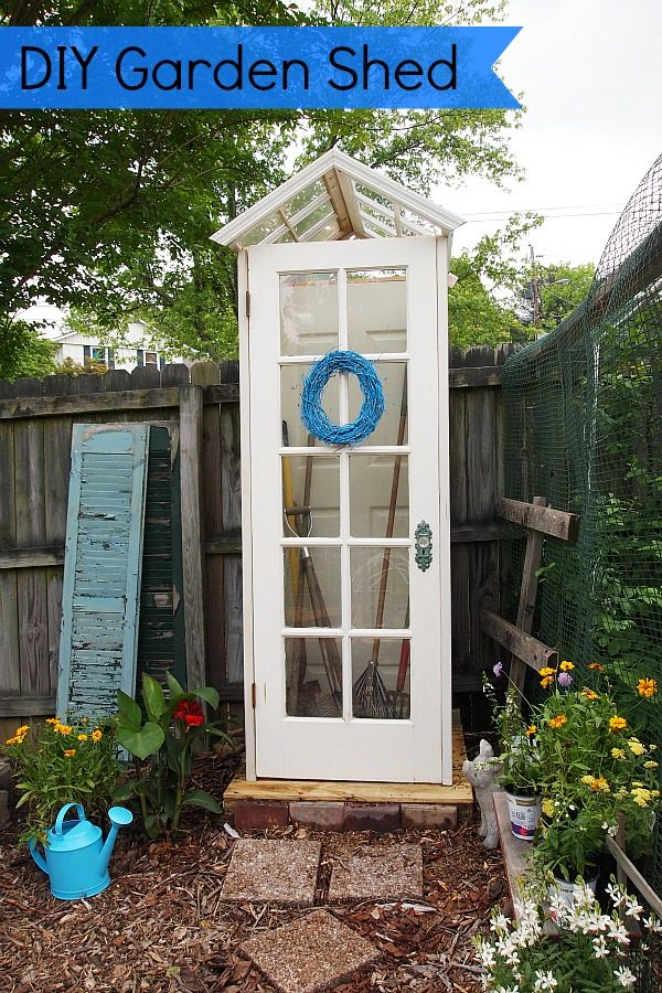 Style Diy Garden Shed From Upcycled Materials Medium