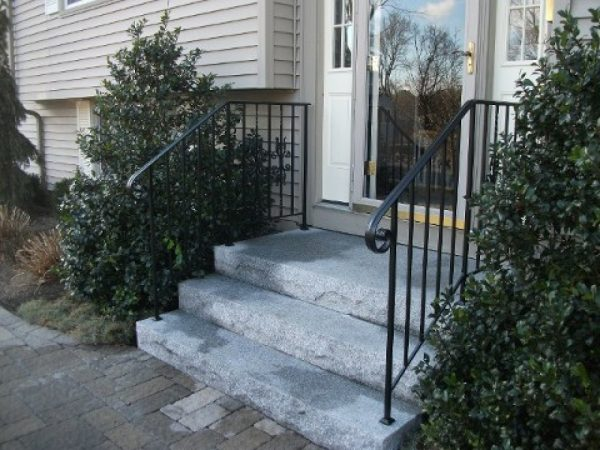 Style Exterior Wrought Iron Stair Railings Wrought Iron Stair Medium