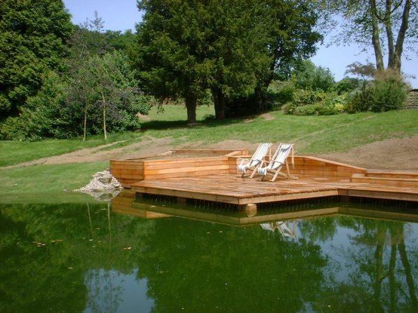 Style Floating Deckdream Home Pond Decking Medium