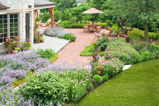 style french country landscape traditional landscape