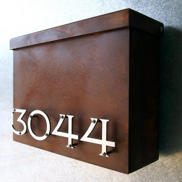 Style Modern Wall Mount Mailbox Foter Medium