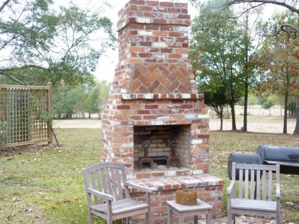 Style The Right Options For Masonry Outdoor Fireplace Medium