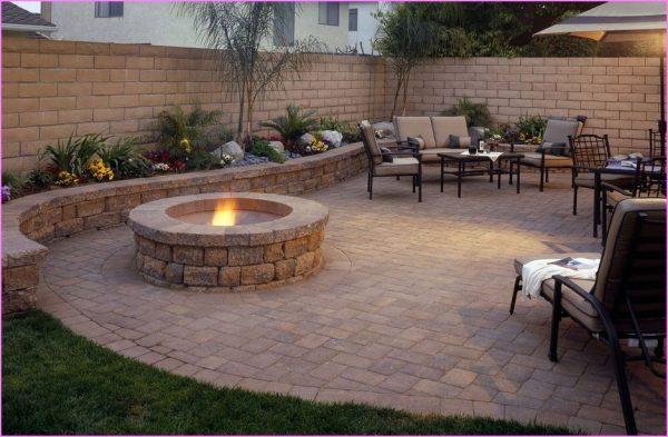 Tips Interesting Backyard Patio Paver Design Ideas Patio Medium