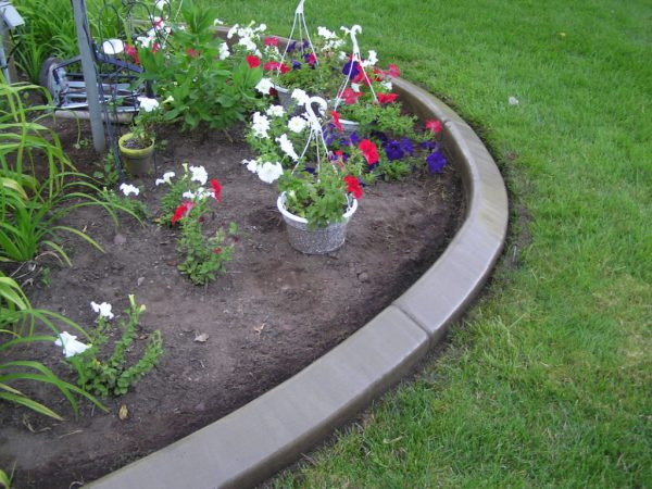 Tips Photo Gallery Of The Garden Edging Ideas For Flower Beds Medium