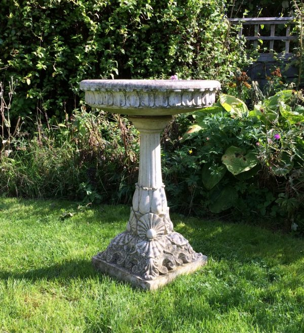 Top Large Decorative Bird Bath In From The Vintage Garden Company Medium
